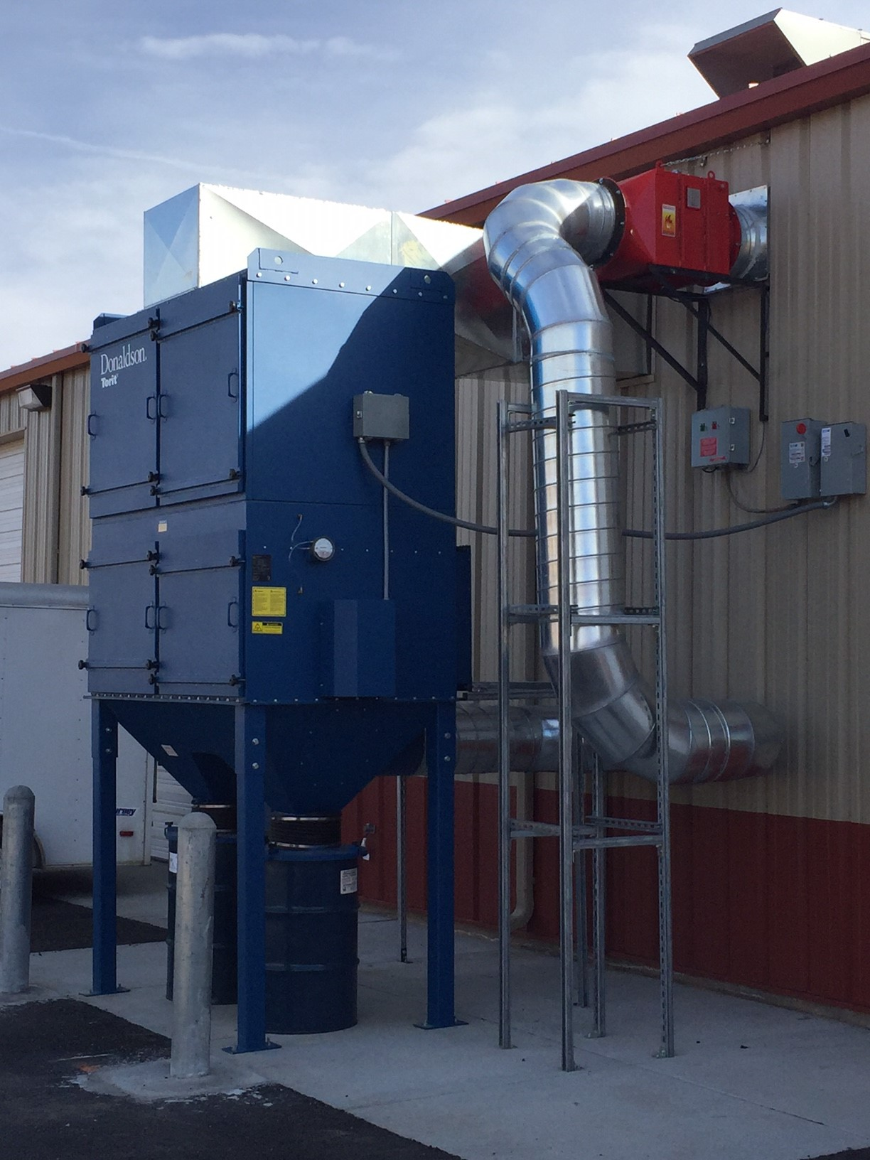 Dust Collection Installations Filter Technologies